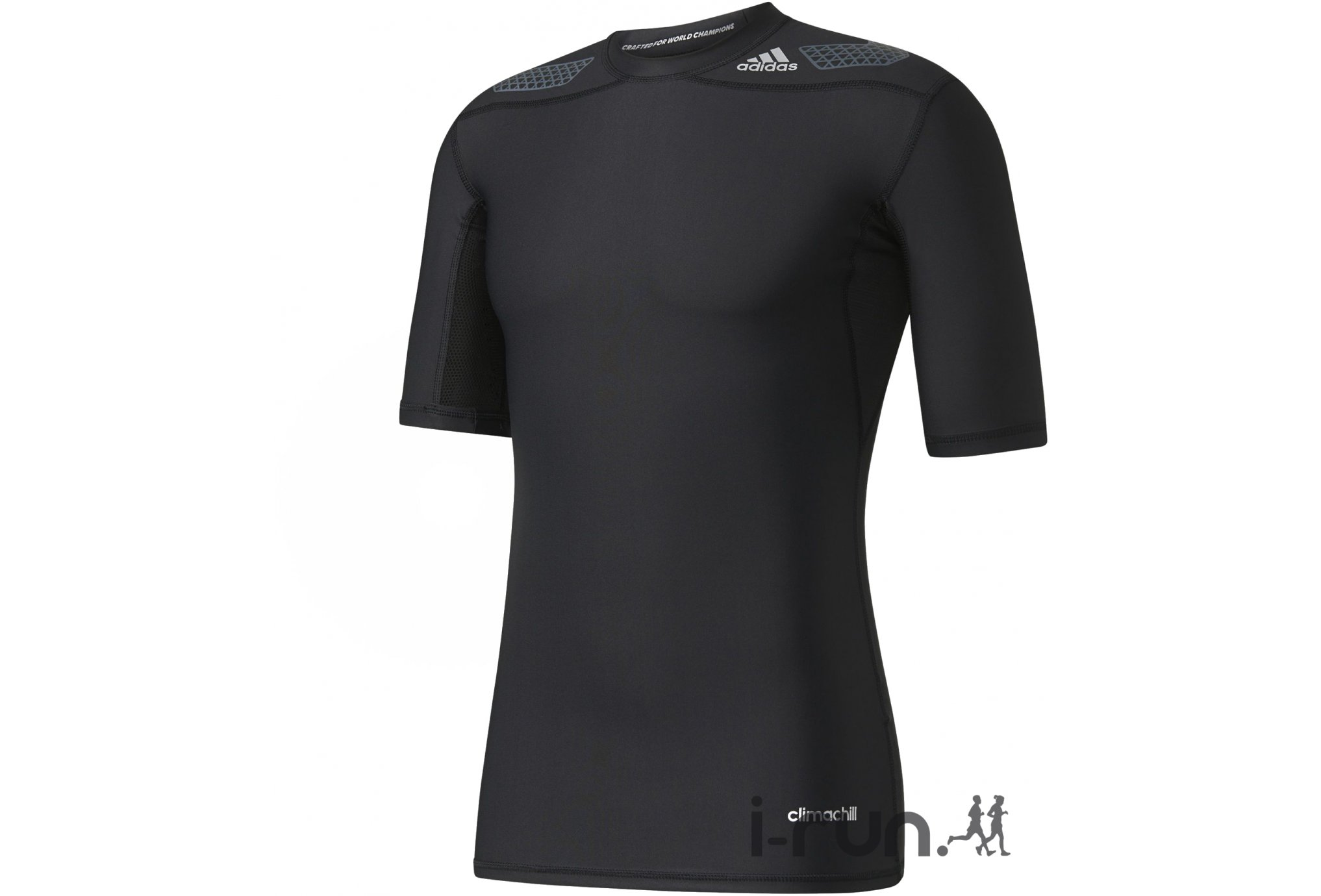 adidas Tee-Shirt Techfit Power M vêtement running homme