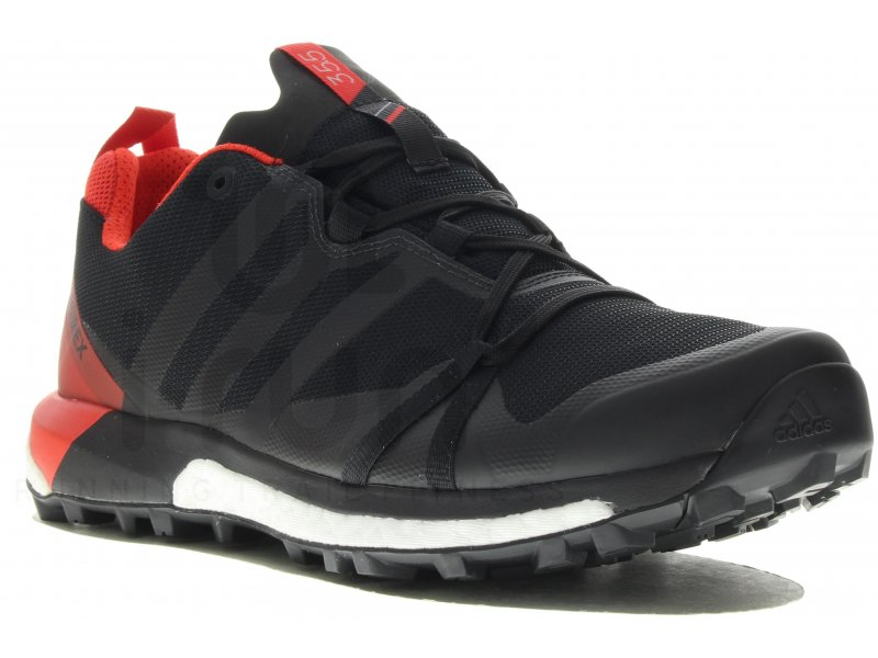 Chaussures Adidas Terrex Agravic rouges homme SFl7h