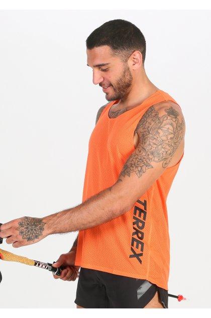 adidas camiseta de tirantes Terrex Agravic