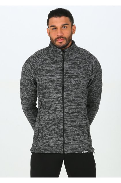 adidas chaqueta Terrex Knit Fleece