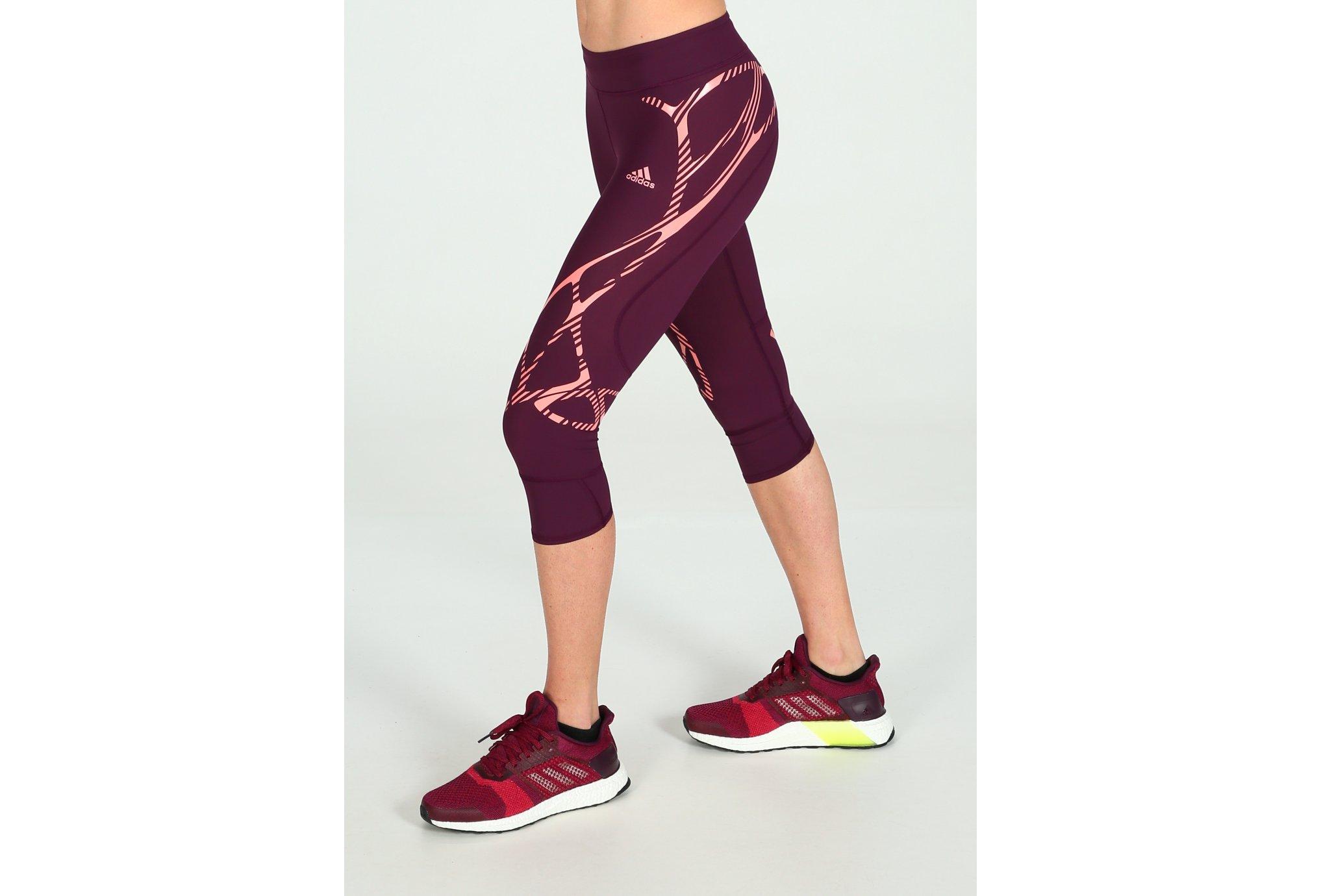 Adidas Tight 3/4 adizero sprintweb w vêtement running femme