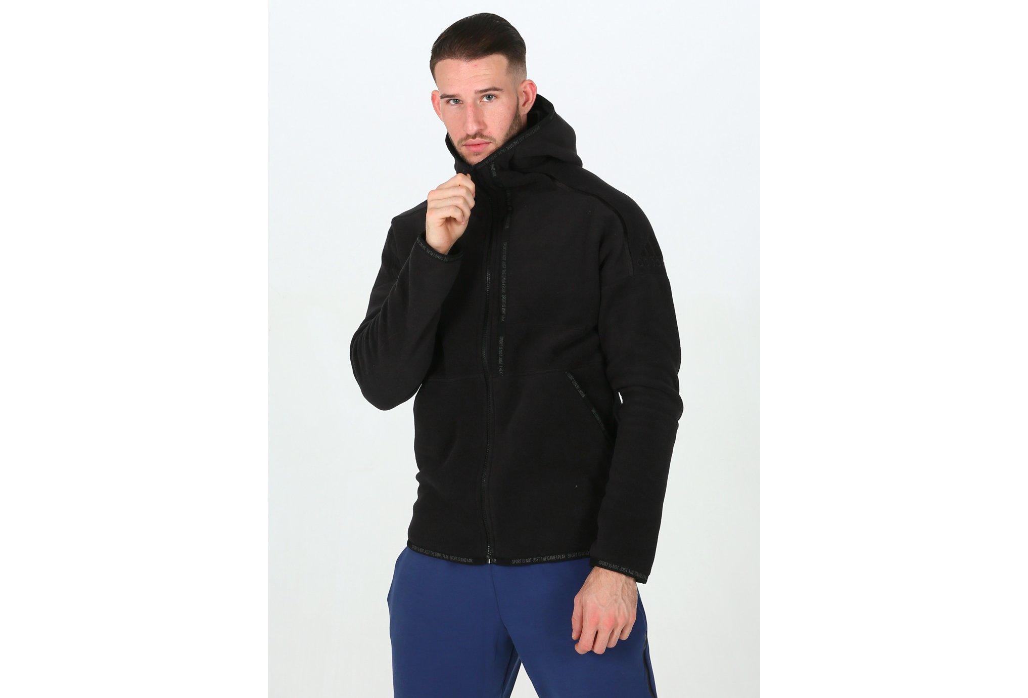 adidas Z.N.E. Fast Release Polar Fleece M Diététique Vêtements homme