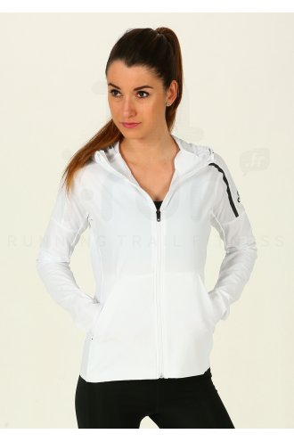 adidas Z.N.E Hoody W femme Blanc pas cher