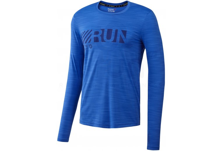 eebde8d878915 Reebok Camiseta manga larga Running ActivChill en promoción