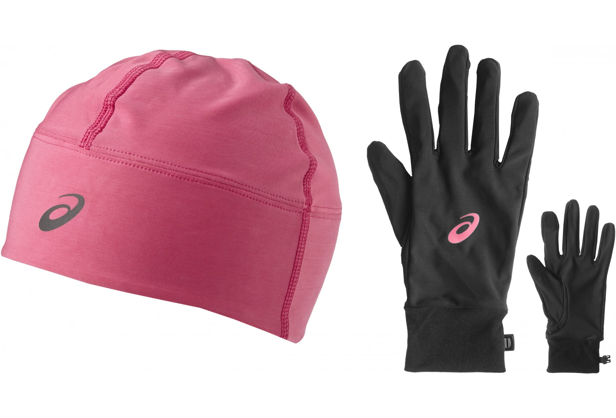 Trail Session Asics Pack Performance Bonnets Gants