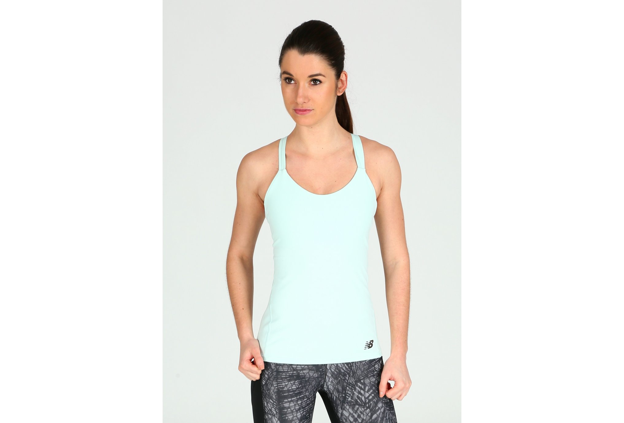 New Balance Strappy Bra Tank W vêtement running femme