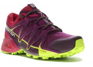 Speedcross Vario 2 W Chaussures Trail Rose Femme Salomon