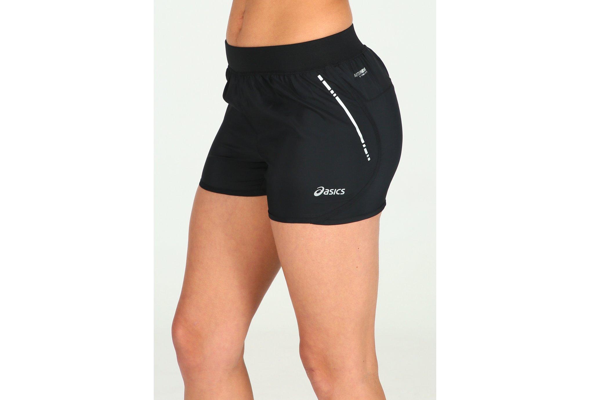 Asics Short Woven 3.5 W vêtement running femme