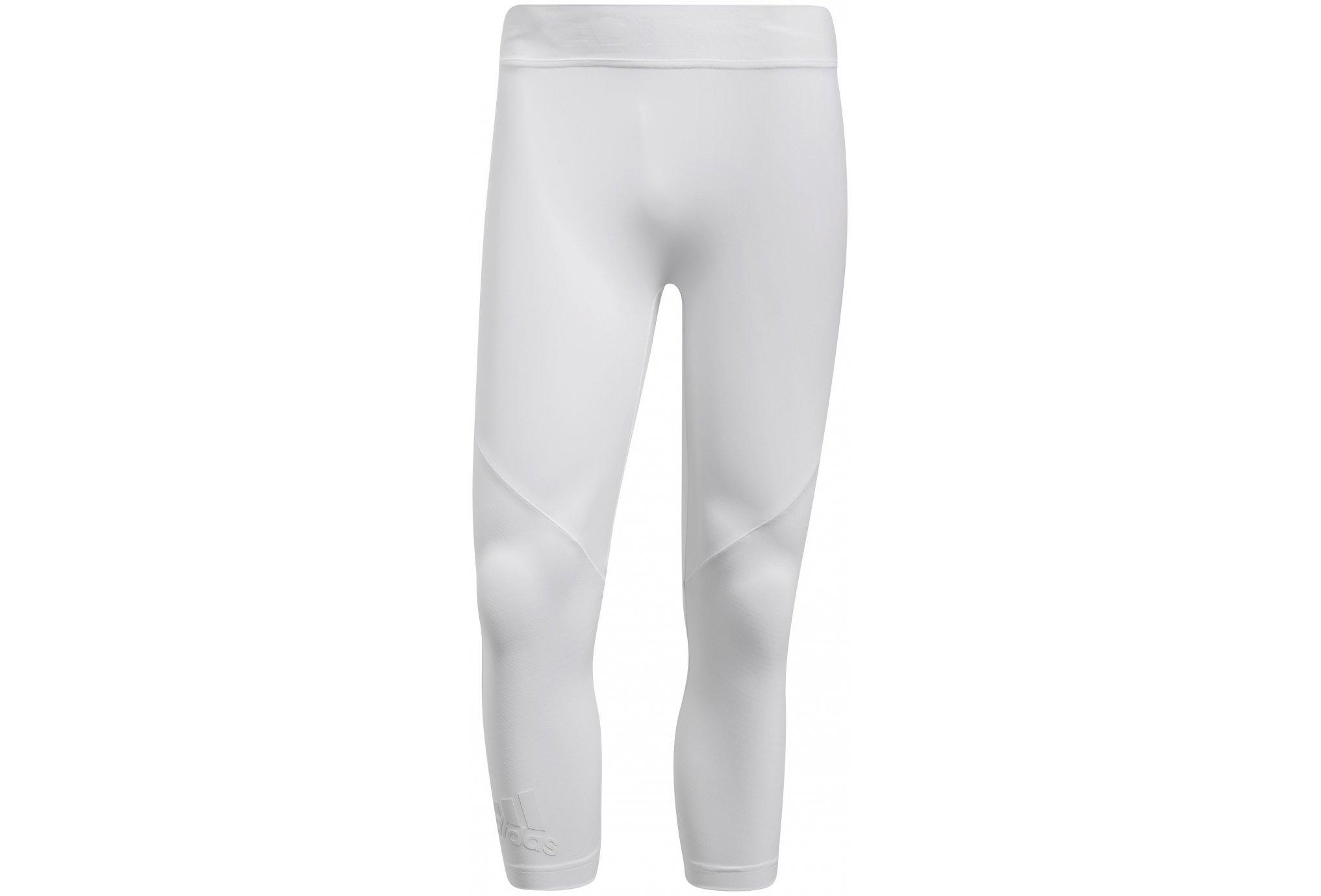 Adidas Alphaskin tech 3/4 m vêtement running homme