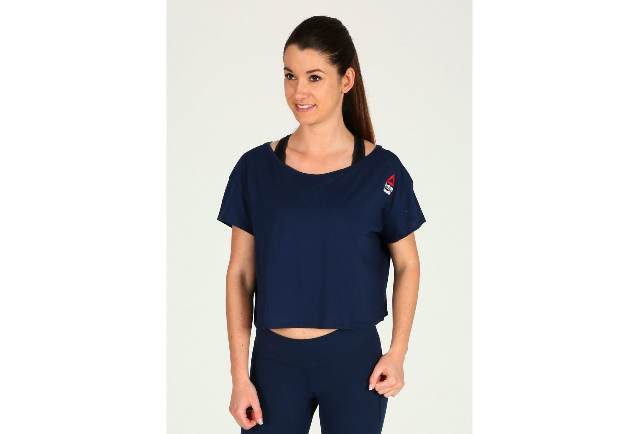 Reebok Tee-shirt Court CrossFit Games W vêtement running femme