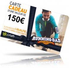 i-run.fr Carte Cadeau 150 Fête des Pères