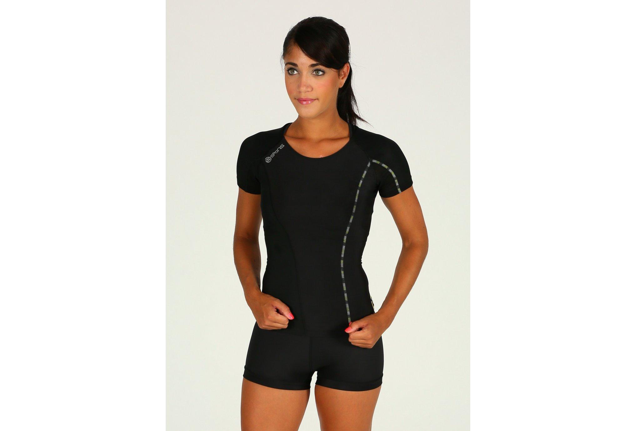 Skins Tee-shirt DNAmic W vêtement running femme