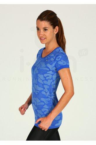 Nike Tee-shirt Dri-Fit Knit Contrast W