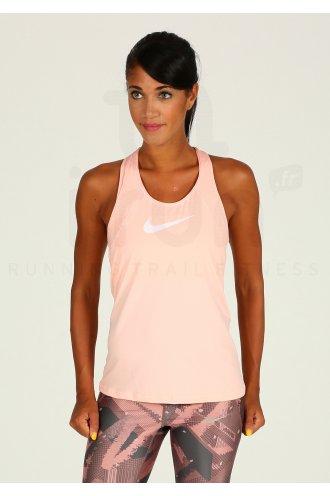 9d516dcfa6d2 Nike Pro Mesh W pas cher - Vêtements femme running Débardeurs en promo