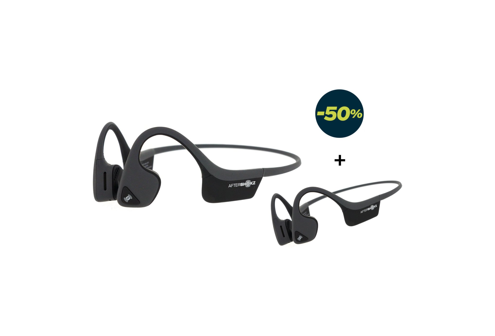 Aftershokz Pack trekz air + trekz air casques / lecteurs mp3