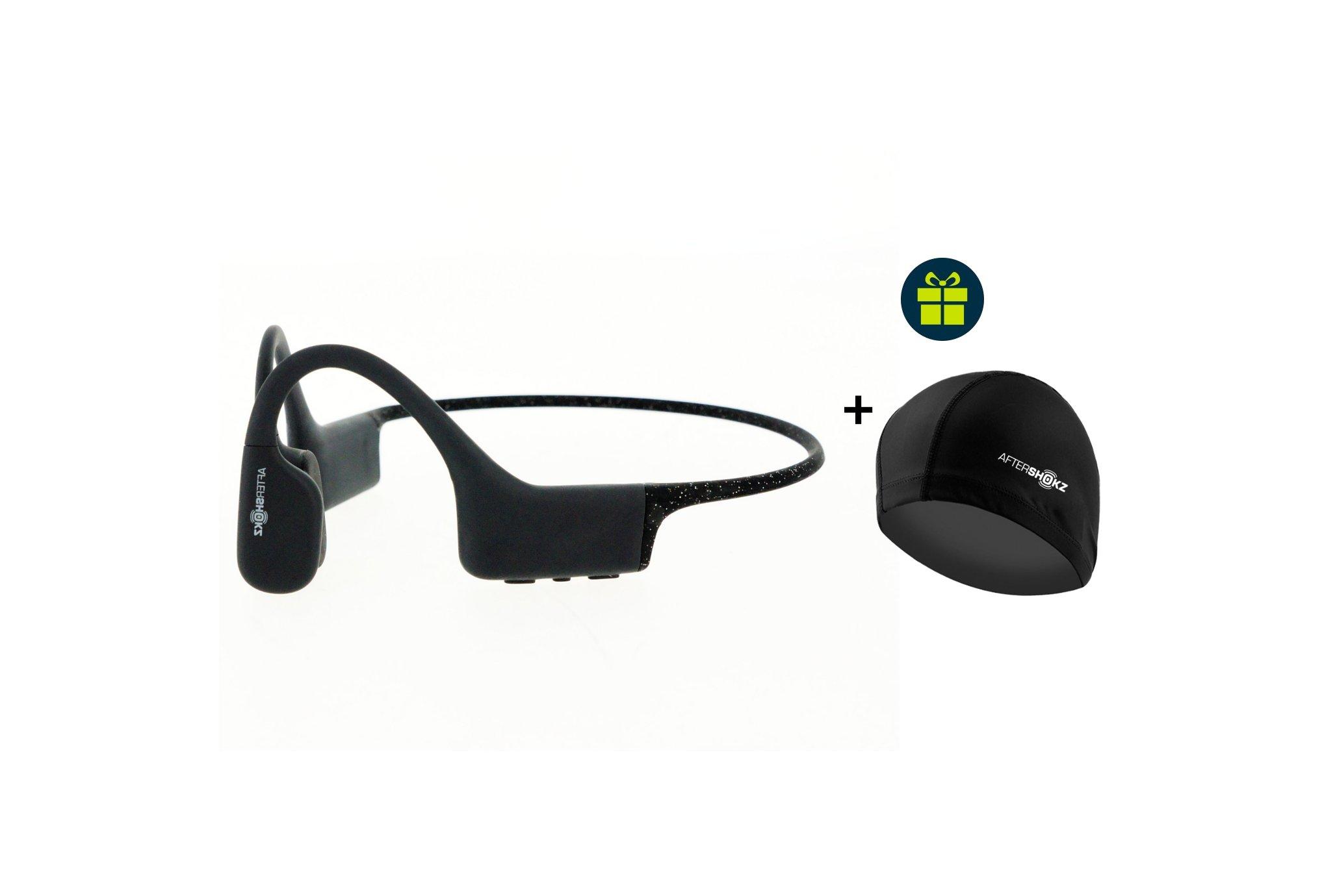 Aftershokz Pack Xtrainerz + Bonnet de bain offert Casques / lecteurs mp3