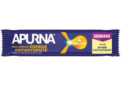 Apurna Barre énergétique - Banane/Chocolat Blanc