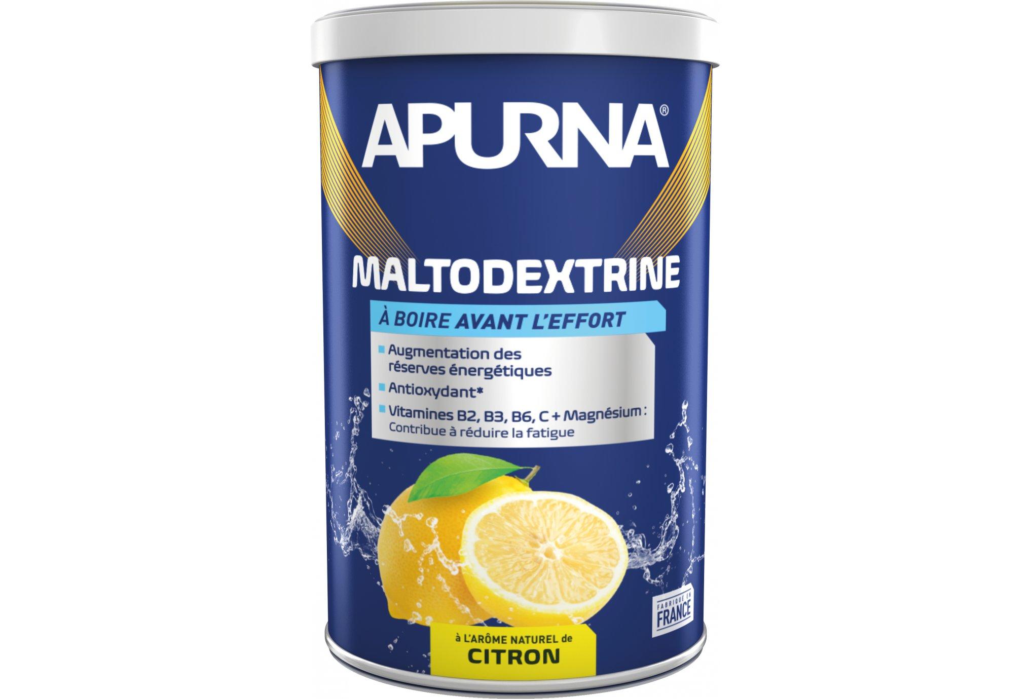 Apurna Boisson maltodextrine - citron diététique préparation