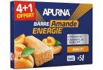 Apurna Étui barres énergétiques Abricot/Amande 4+1