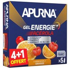 Apurna Etui gels énergie Acérola 4+1