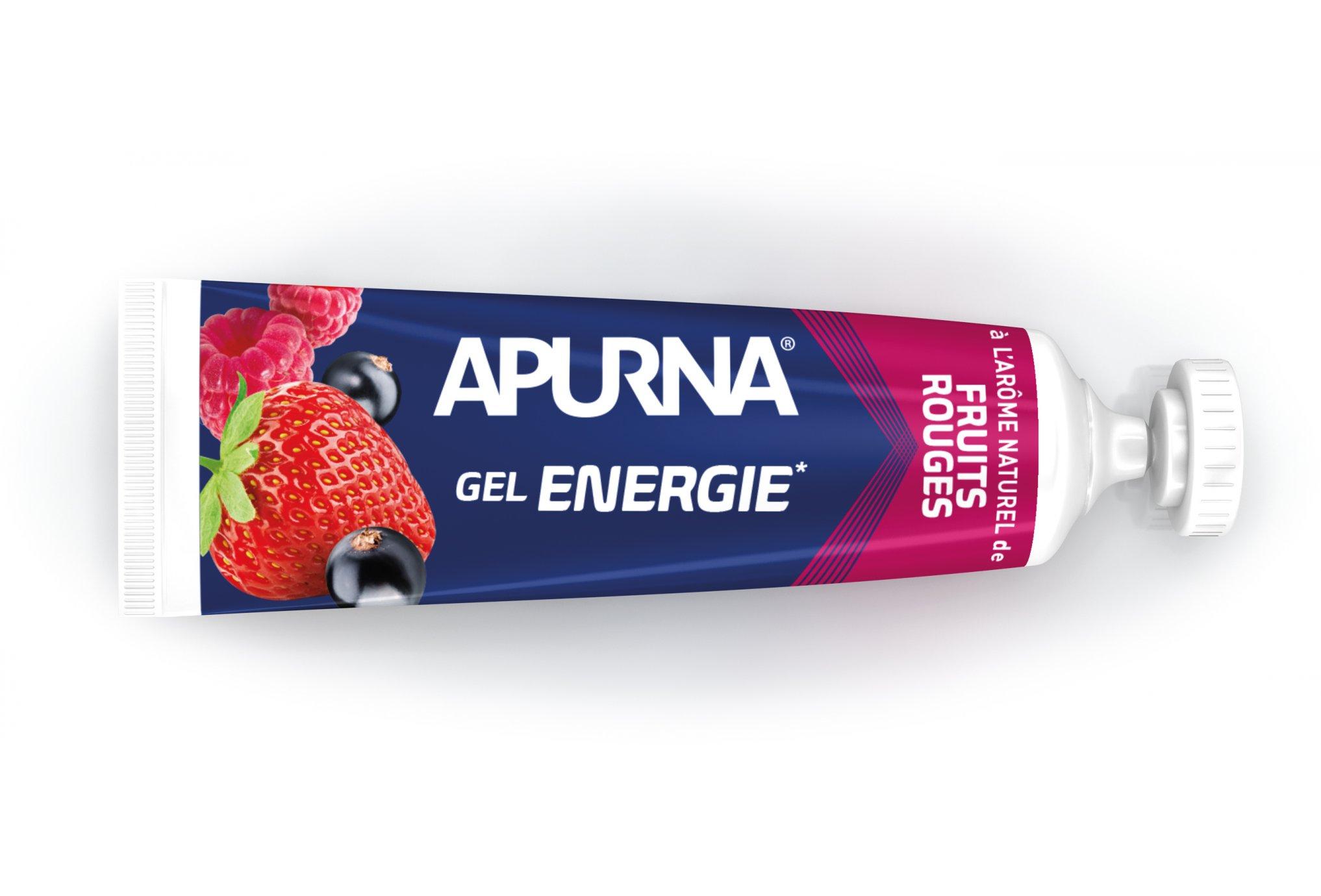 Apurna Gel Energie - Fruits Rouges Diététique Gels