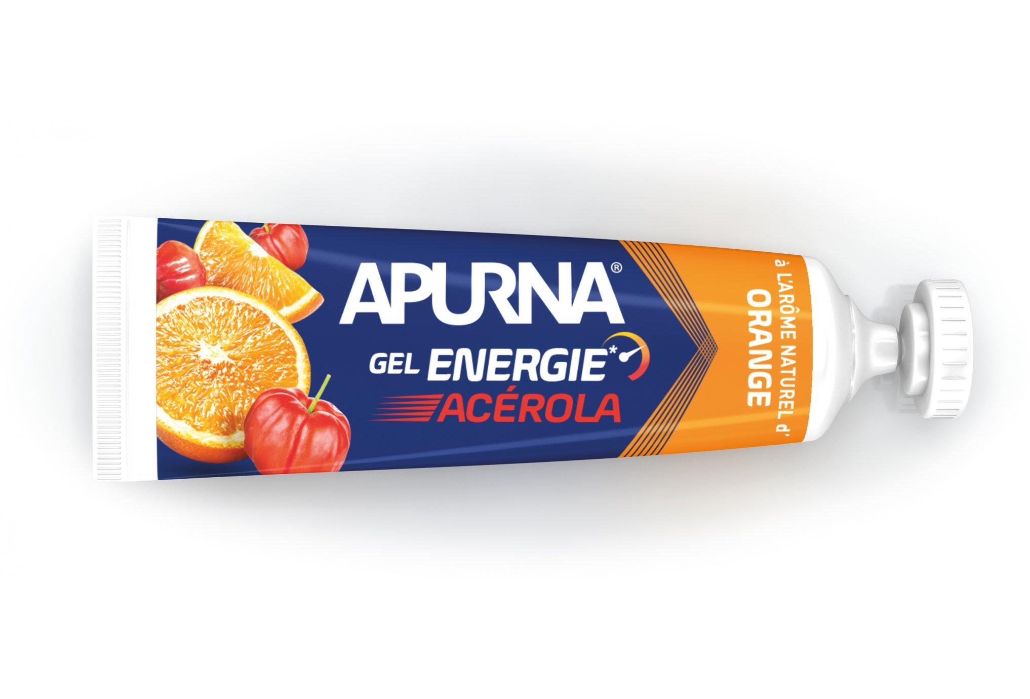Apurna Gel energético Acerola-Naranja Diététique Gels