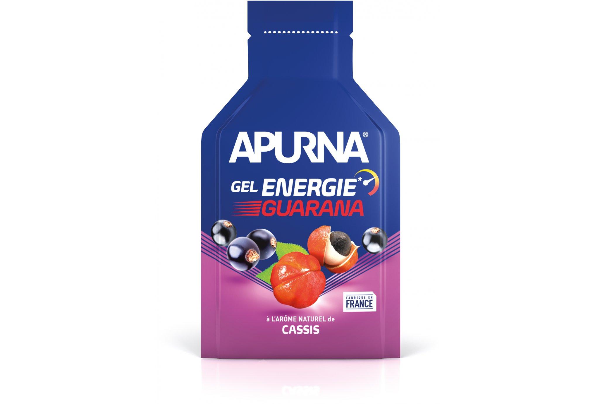 Apurna Gel energie guarana - cassis diététique gels