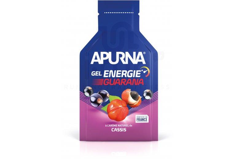 Apurna Gel Energie Guarana - Cassis