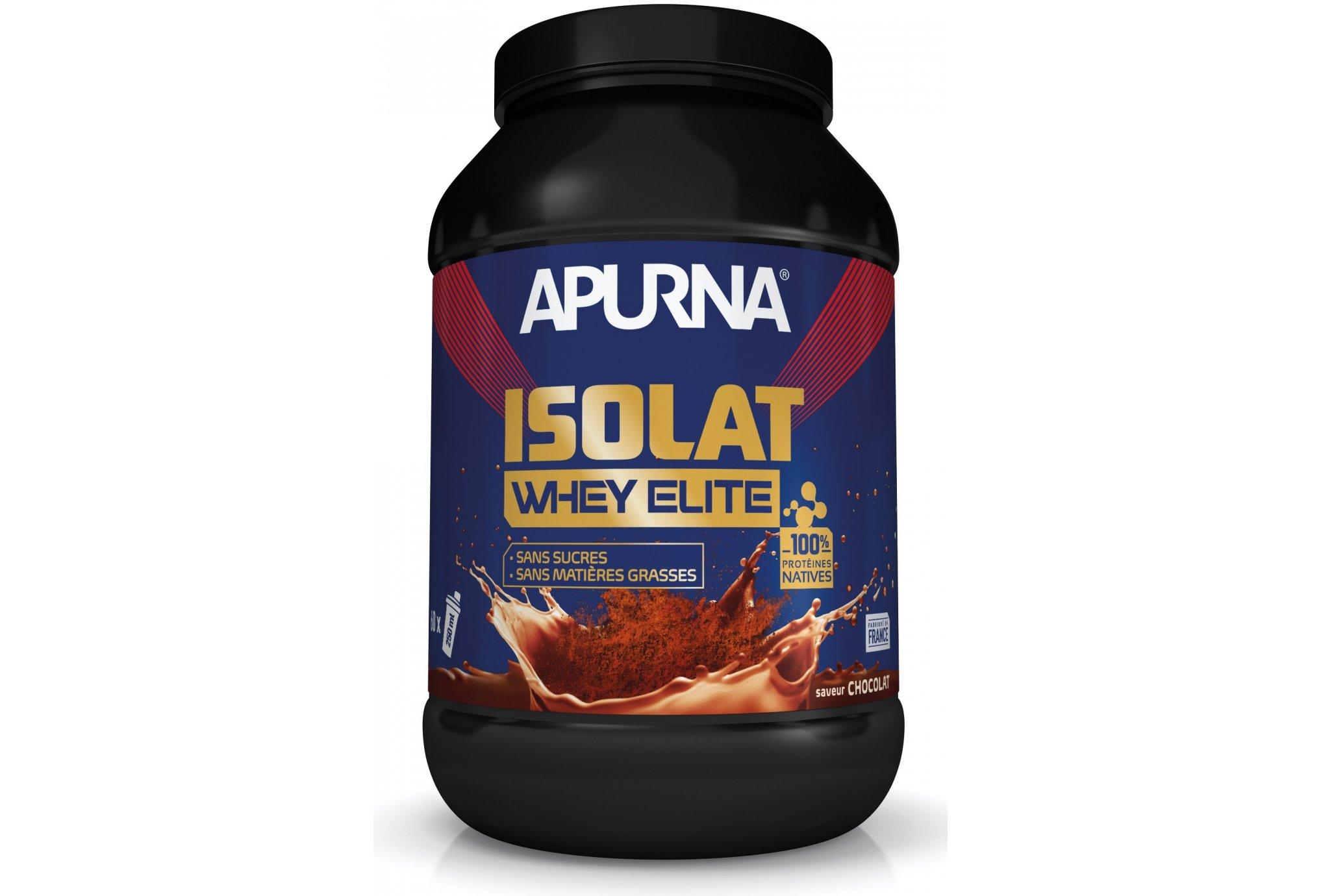 Apurna Isolat Whey Elite - Cacao Diététique Protéines / récupération
