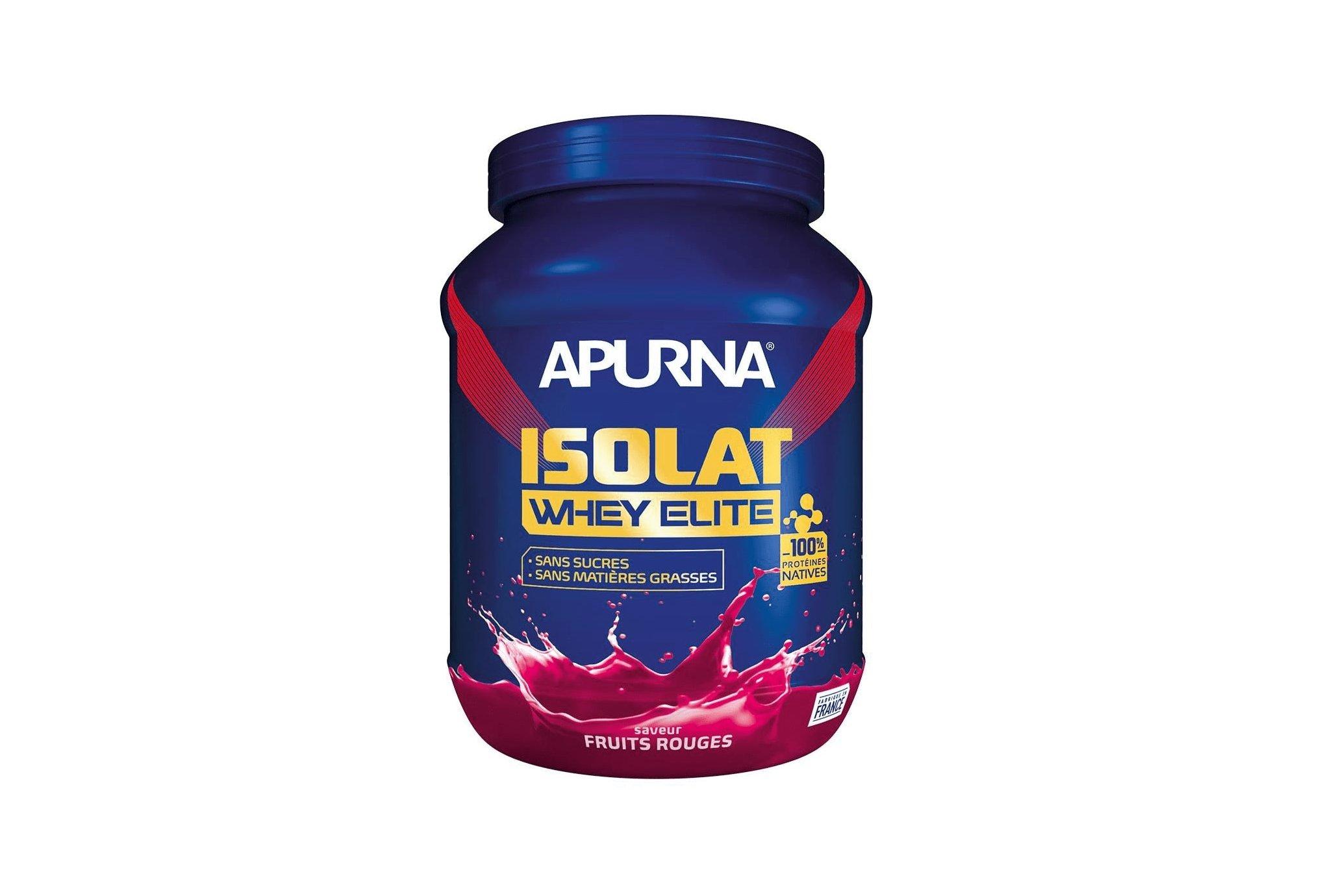 Apurna Isolat Whey Elite 720 g - Fruits Rouges Diététique Protéines / récupération