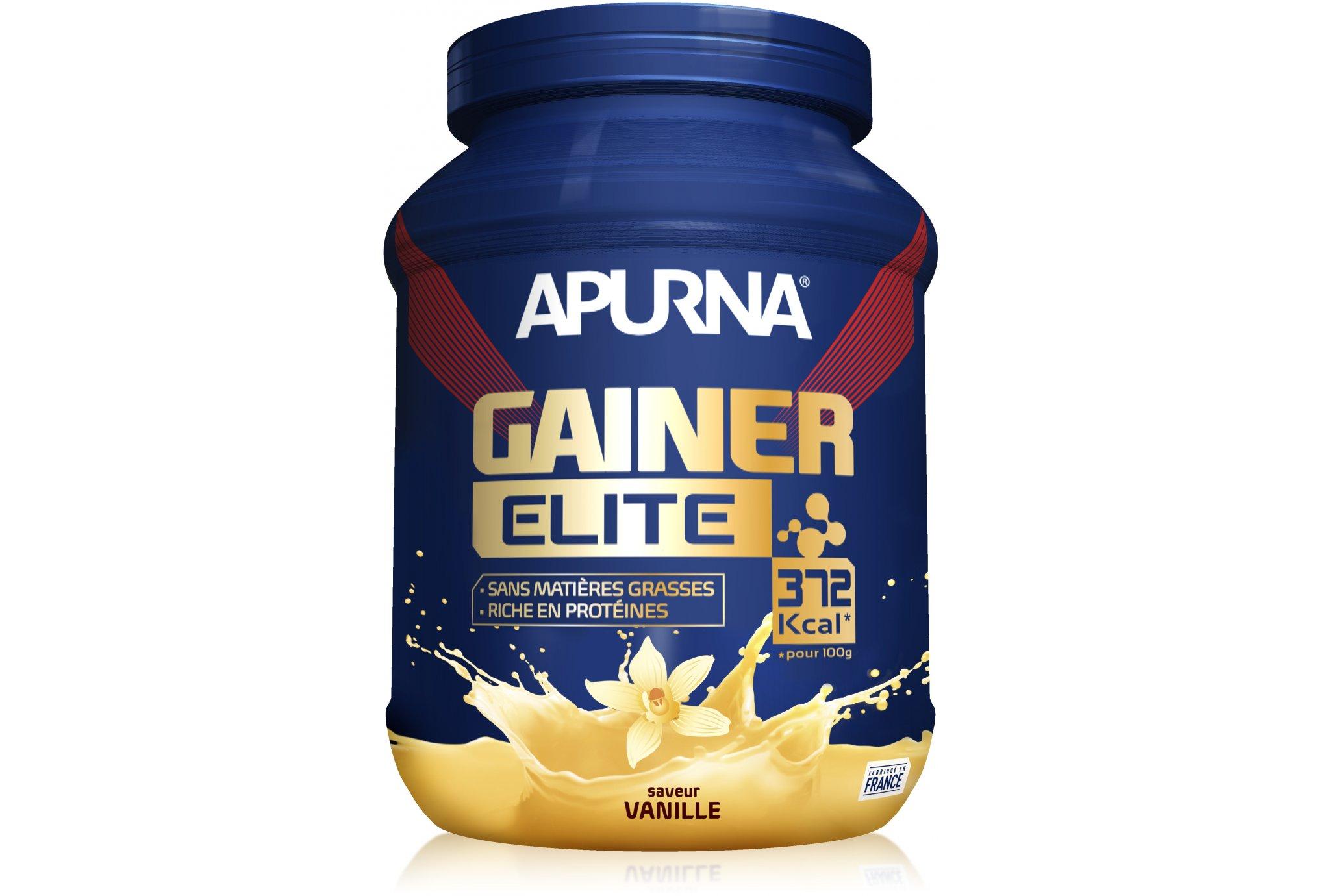 Apurna Mass gainer elite - vanille diététique protéines / récupération