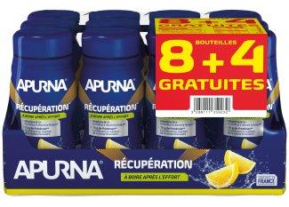 Apurna Pack 8+4  Bebida recuperación-Limón
