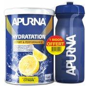 Apurna Préparation Hydratation - Citron + Bidon Offert