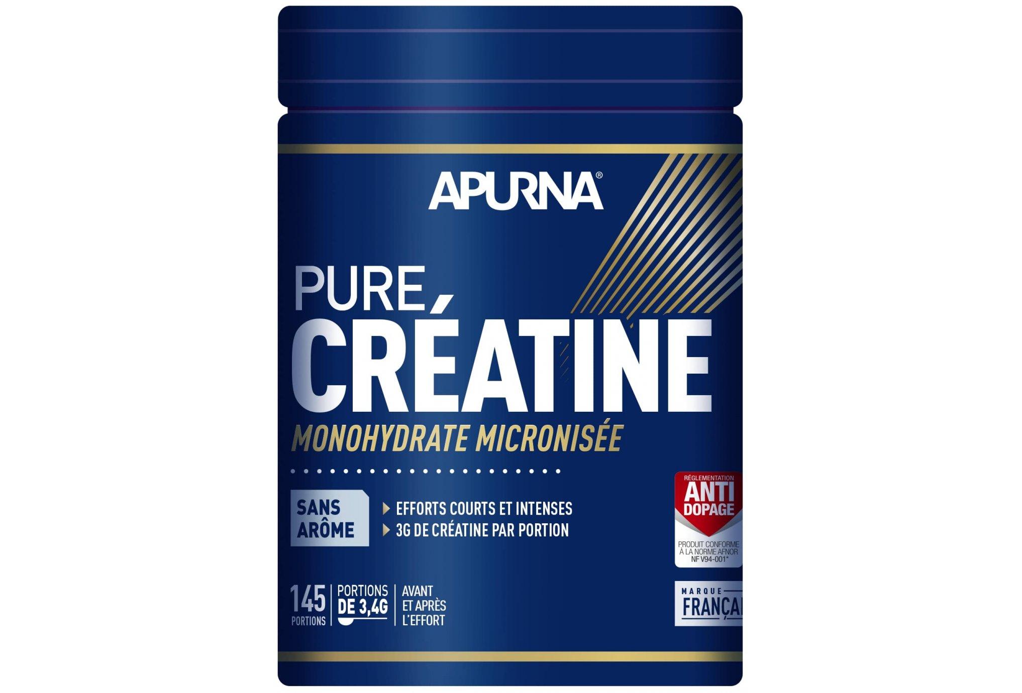Apurna Pure Créatine - Neutre - 500 g Diététique Compléments