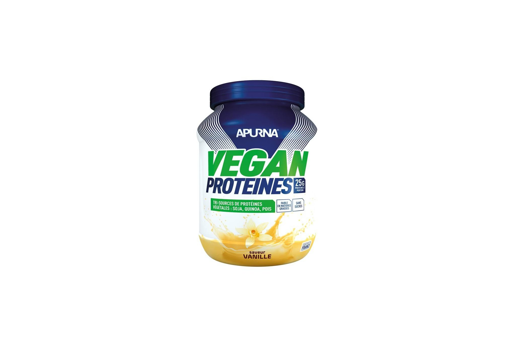 Apurna Vegan Protéines - Vanille Diététique Protéines / récupération