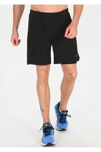 Asics pantalón corto 2 en 1