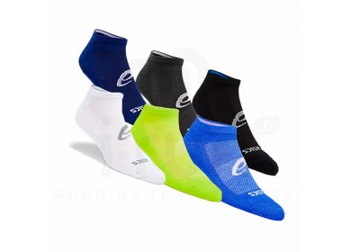 Asics 6 paires Invisible Sock
