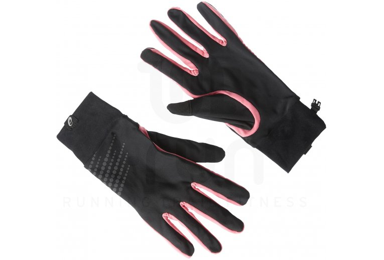 guantes asics running hombre