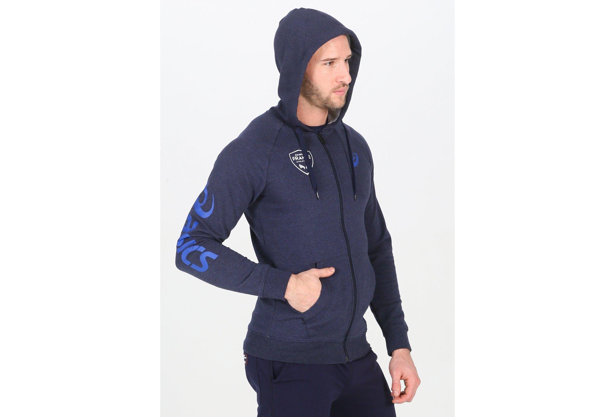 Asics Big hoodie france m vêtement running homme