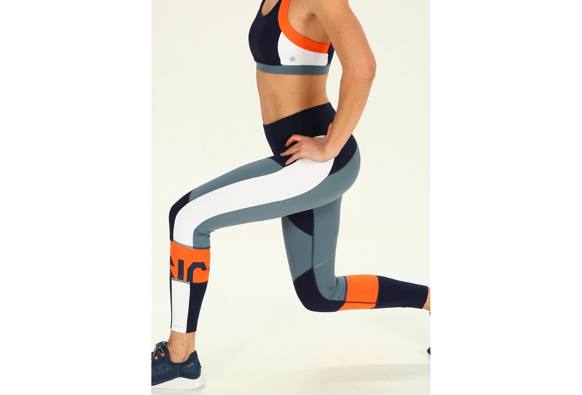 Asics Color block cropped w vêtement running femme