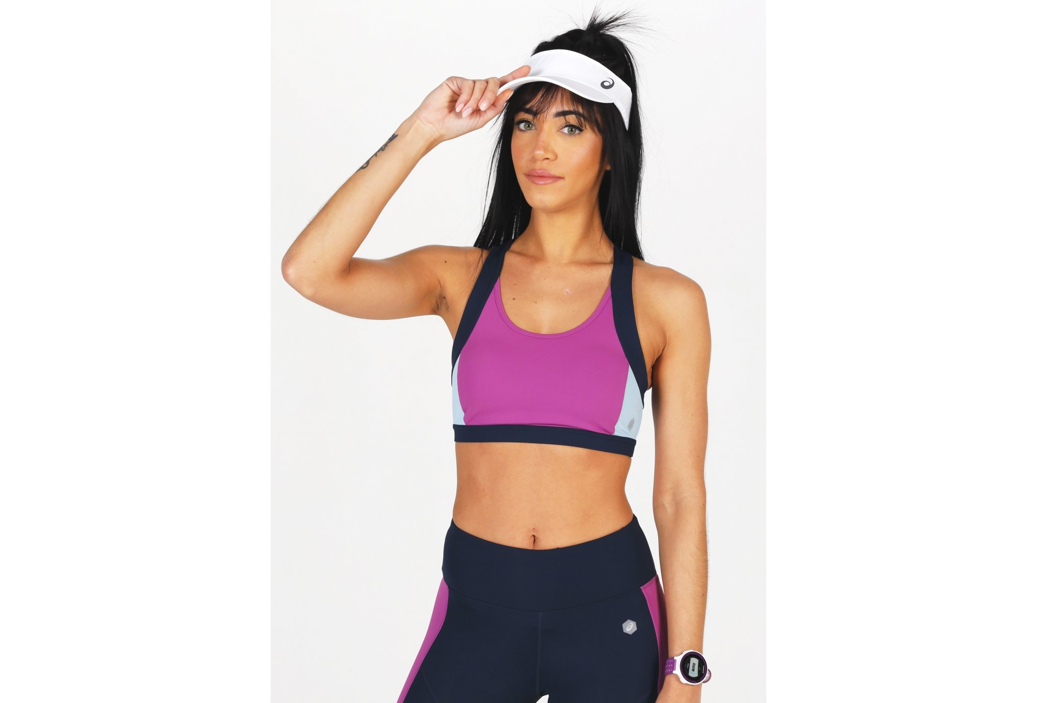 Asics Color Block vêtement running femme