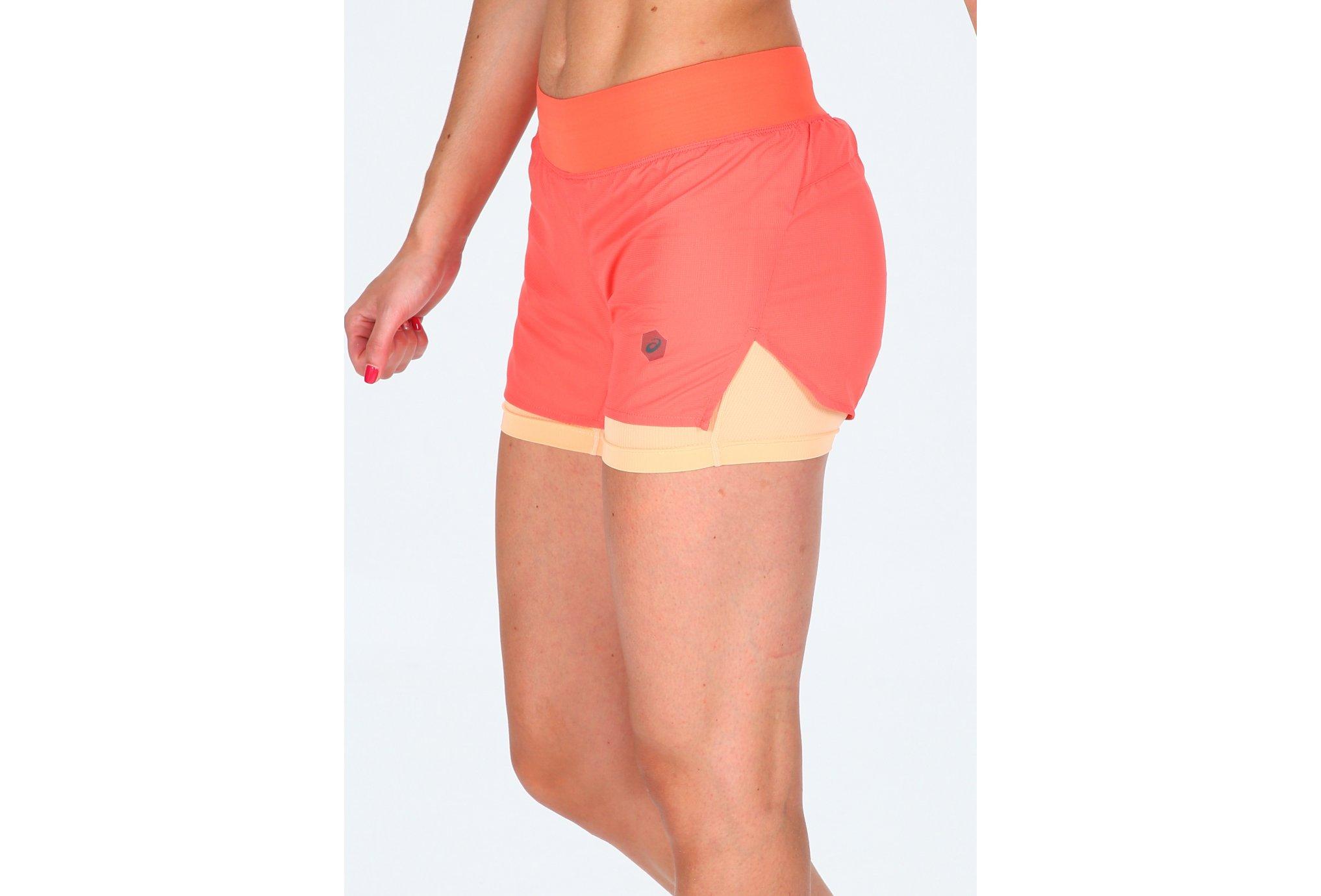 Asics Cool 2 en 1 W Diététique Vêtements femme