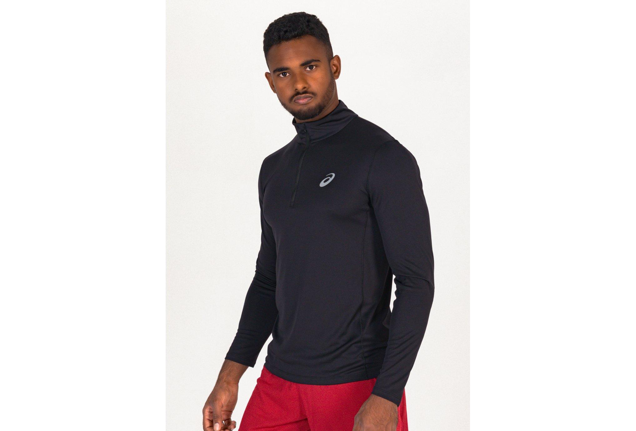 Asics Core 1/2 Zip M vêtement running homme