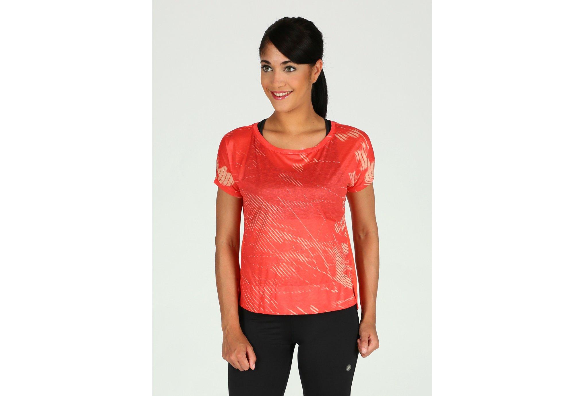 Asics Crop Top W Diététique Vêtements femme
