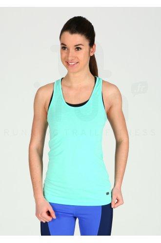 Femme T shirts Débardeur Asics Reversible Racerbank Tank
