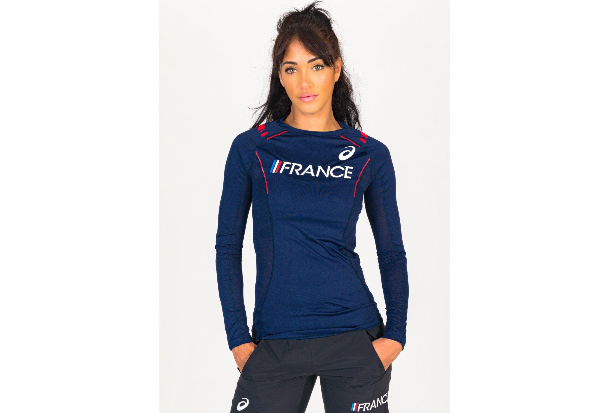 Asics Équipe de France W vêtement running femme