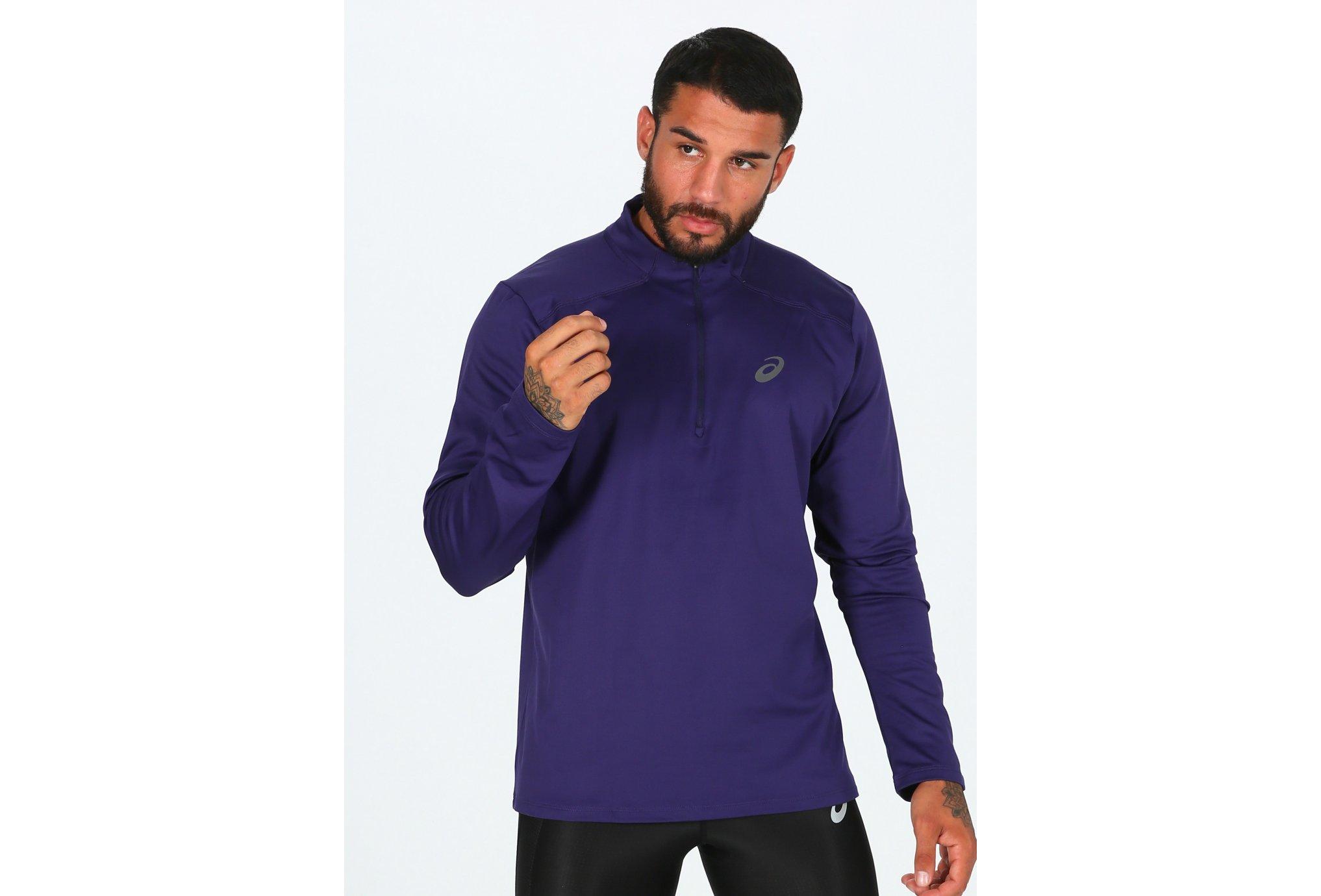 Asics Essential Winter 1/2 Zip M Diététique Vêtements homme