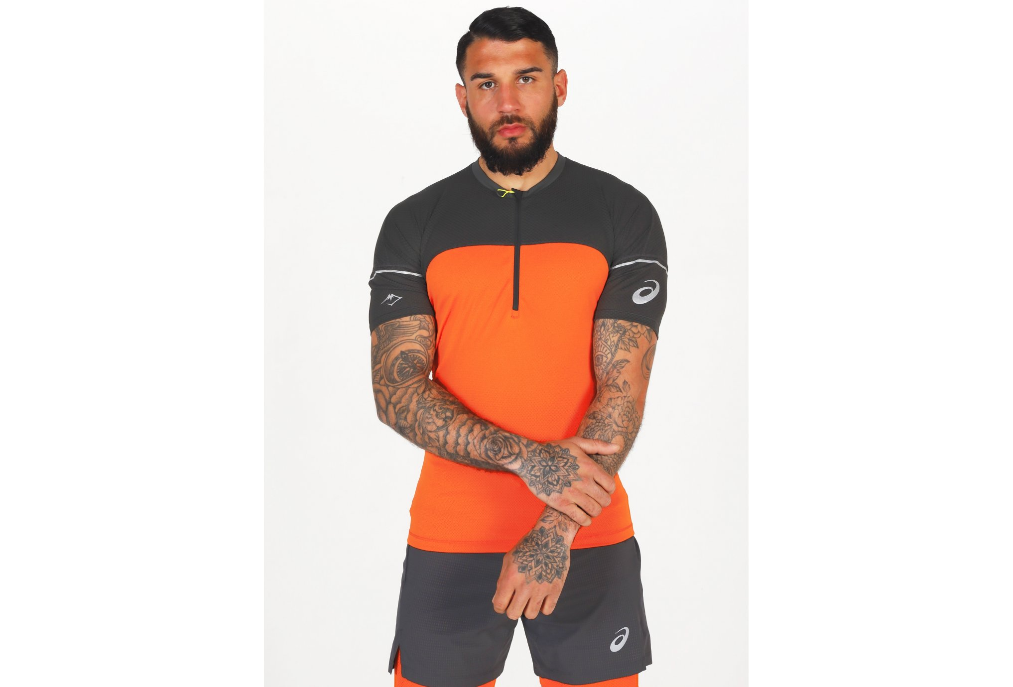Asics Fujitrail 1/2 Zip M vêtement running homme