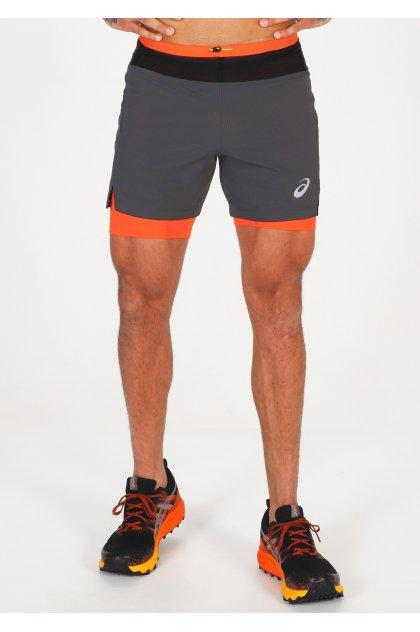 Asics pantalón corto corta Fujitrail