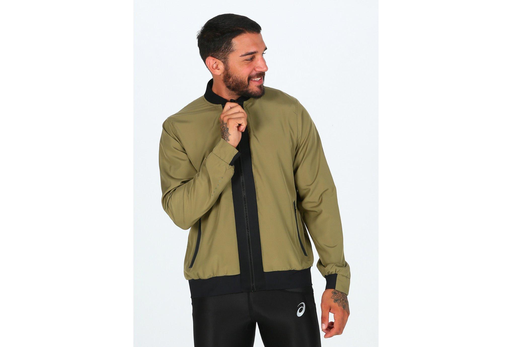 Asics FuzeX Bomber M Diététique Vêtements homme